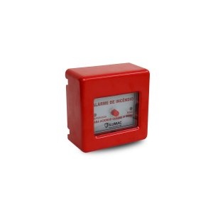 Acionador Manual de Alarme Convencional AM-C Ilumac sem Martelo