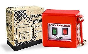 Acionador Manual de Bomba de Incêndio sem Martelo AM-B Ilumac
