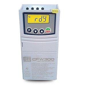 Inversor de Frequência Weg CFW300 380/480V 2,6A 1,5CV