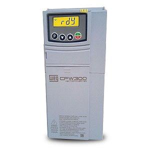 Inversor de Frequencia Weg CFW300 Tri 7,5CV 12A 380V