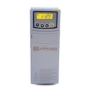 Inversor de Frequencia Weg CFW300 Trifasico 5,5CV 380V
