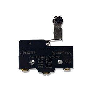 Chave Fim de Curso Plástico Z-15GW2277B Roldana Unidirecional Sibratec