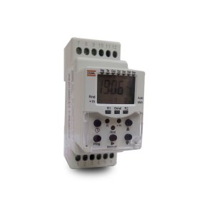 Programador Horario Coel BWTHRR 40 100-220V Timer 2 Relés