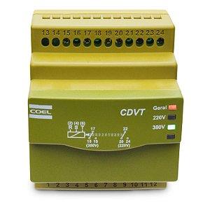 Monitor de Tensão Trifásico Coel CDVT 220/380V
