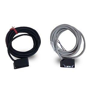 Sensor Óptico de Barreira Ret. Plást. 10m 12 A 24vcc Pnp Weg
