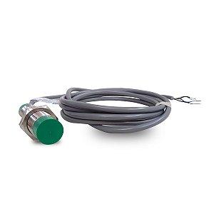 Sensor Indutivo Cilíndrico Metálico M18 10 a 30Vcc Pnp Weg