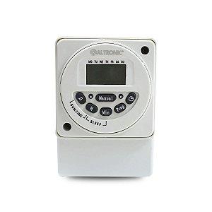 Programador Horário Digital Altronic PDST 32P 110/220Vca