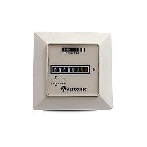 Horímetro Totalizador Horário Altronic THA02 220Vca