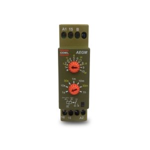 Rele de Tempo Coel AEGM 94 a 242Vca 24Vca/Vcc 1s a 60min