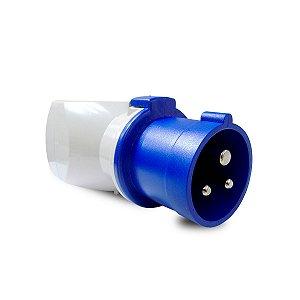 Adaptador Tomada Industrial Comercial Scame 2P+T 10A 250V