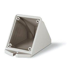 Caixa de Sobrepor Industrial Scame Tomada 16A 70x87mm Cinza