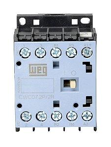 Mini Contator Weg Cwc07 7A 24Vdc 2Na+2Nf