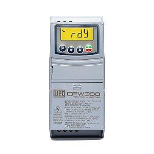Inversor de Frequência Weg CFW300 Trif. 380-480V 6,5A 4CV