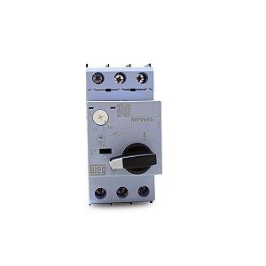 Disjuntor Motor Tripolar Weg MPW40 ajuste 0,63 até 1A