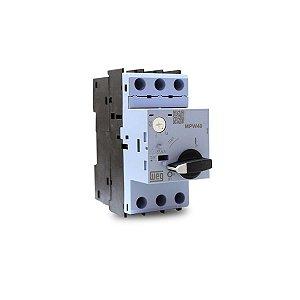 Disjuntor Motor Weg MPW40 ajuste 1,6 até 2,5A