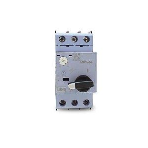 Disjuntor Motor Weg MPW40 ajuste 0,4 até 0,63A
