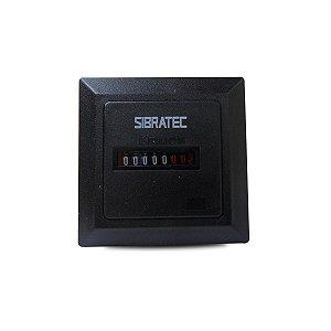 Horímetro Analógico 220V 60Hz Sibratec