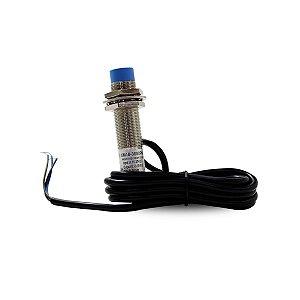 Sensor Indutivo 15-30Vcc PNP 3 Fios Saída 0-10Vcc