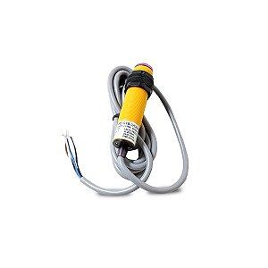 Sensor Fotoelétrico Difuso 10-30Vcc (PNP/NA+NF) 4 Fios