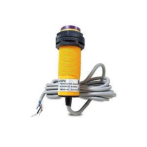 Sensor Fotoelétrico Difuso 10-30Vcc PNP/NA+NF 4 Fios