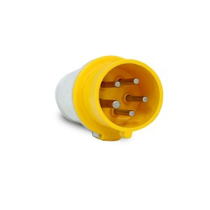 Plug Industrial Scame 3P+N+T 16A 127V 4h Amarelo