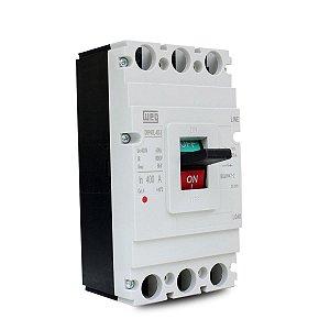 Disjuntor Caixa Moldada Weg 400A Tripolar DWP400L