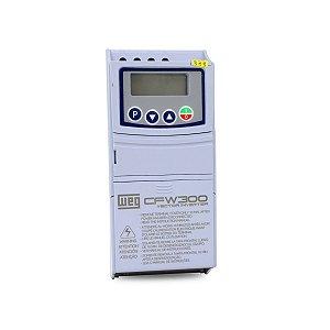 Inversor de Frequência Weg CFW300 380-480V 1.1A 0,5CV
