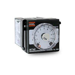Temporizador Multifunção Coel MT48 220V 48x48mm