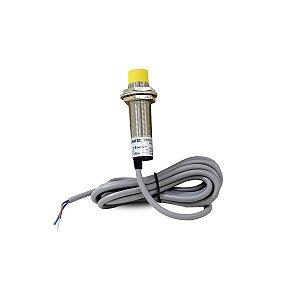Sensor Capacitivo Não Faceado CM18 com Cabo NA 90-250VCA