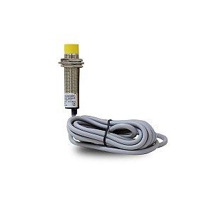 Sensor Capacitivo NãoFaceado CM18 com Cabo PNP NA+NF 6-36Vcc
