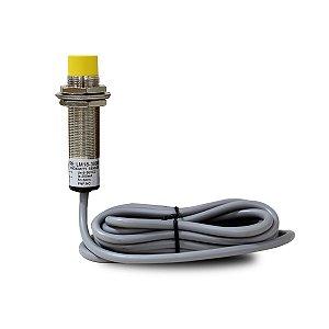 Sensor Indutivo Não Faceado LM18 com Cabo PNP NF 6-36Vcc
