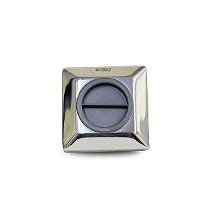 Dispositivo de Aspiração Tholz Quadrado em Inox para Piscina
