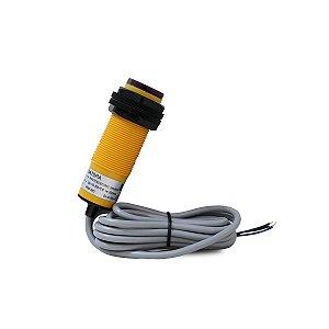 Sensor Difuso Não Faceado M30 com Cabo PNP NA 10-30Vcc