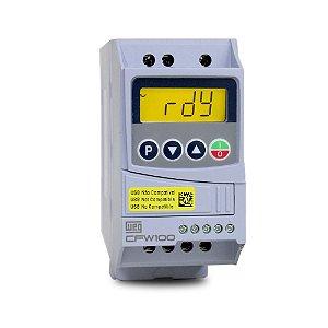 Inversor de Frequencia Weg CFW100 Monofasico 0,5CV 220V 2,6A