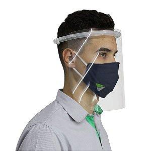 Máscara Protetor Facial Protege Olhos Nariz e Boca