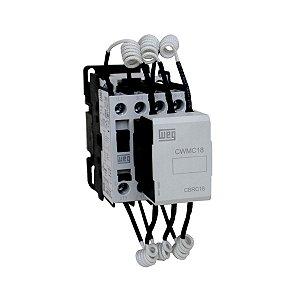 Contator Para Capacitor Weg CWMC 110VCA 22A 1NA CWMC18 10