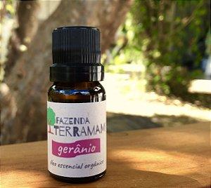 Óleo essencial Orgânico de Gerânio