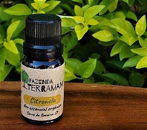 Óleo essencial Citronela Orgânico 10ml
