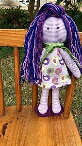 Lavandinha boneca de pano