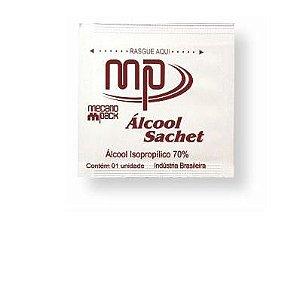 Álcool Swab Sache 3x6cm - C/200 - Mecano Pack