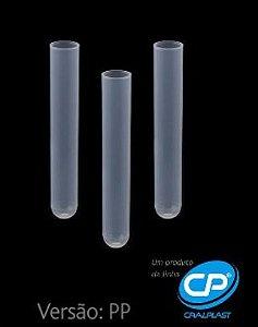 Tubo de Ensaio Plástico - PP 12x75mm - 5ml - C/1000 - Cral