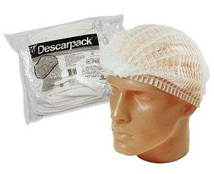 Touca Descartável com Elástico - C/100 - Descarpack