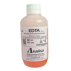 Edta - Anticoagulante Para Hematologia - 200ml - Gold Analisa