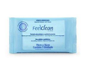 Lenço Umedecido Higiênico - Feelclean - C/ 50 Un.