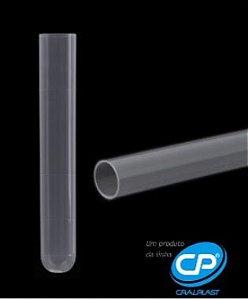 Tubo de Ensaio Plástico - PP 15x100mm - 10ml - C/1000 - Cral