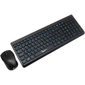 Kit Teclado e Mouse Wireless Sem Fio - Knup