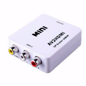 Mini Adaptador RCA AV/HDMI