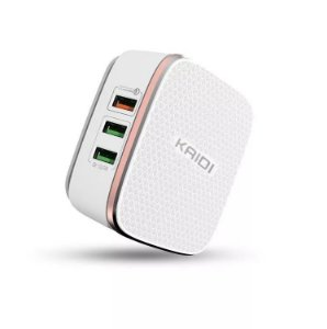 Carregador HUB 6USB Turbo Quick Charge 3.0 KD-601 - Kaidi