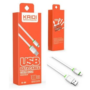 Cabo USB Lightning para iPhone 1m KD-306 - Kaidi
