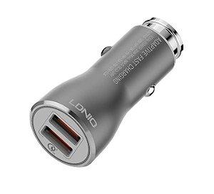 Carregador Veicular Dual USB 6A Turbo Quick Charge 3.0 KD-108 - Kaidi